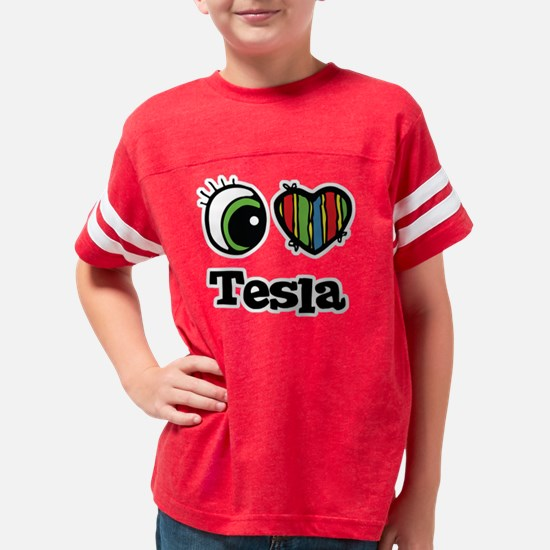 tesla Youth Football Shirt