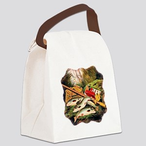 Brook Trout Canvas Lunch Bag