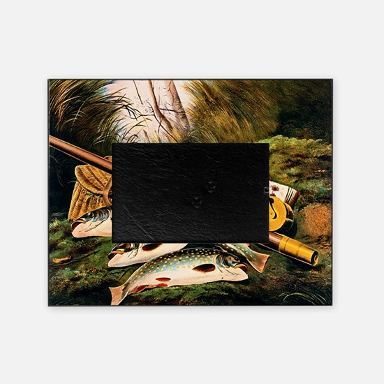 Brook Trout Picture Frame