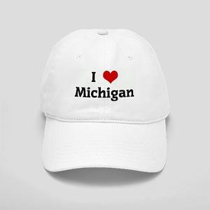 I Love Michigan Cap