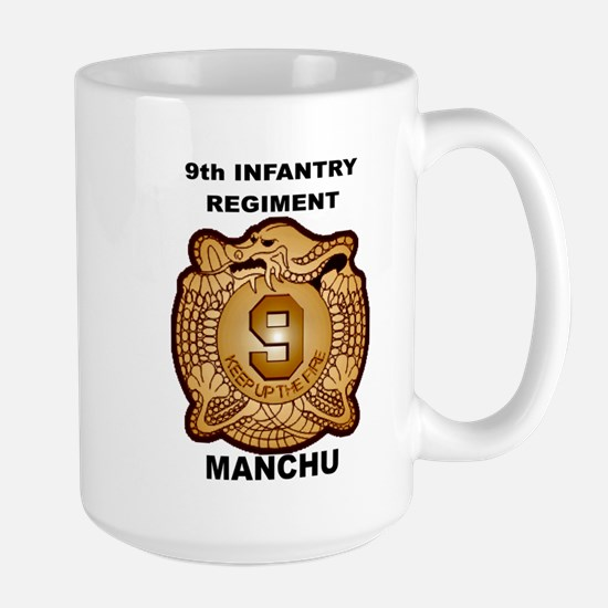 9th Infantry Regiment Manchu Mugs