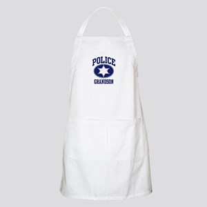 Police GRANDSON (badge) BBQ Apron