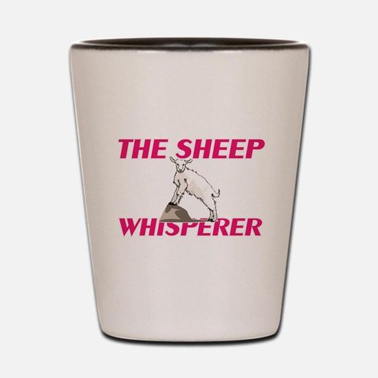 The Sheep Whisperer Shot Glass