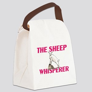 The Sheep Whisperer Canvas Lunch Bag