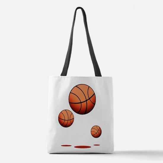Basketball (B) Polyester Tote Bag