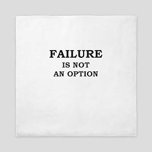 Failure Is Not An Option Queen Duvet