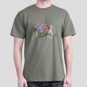 Believe T-Shirt (various dark colors)
