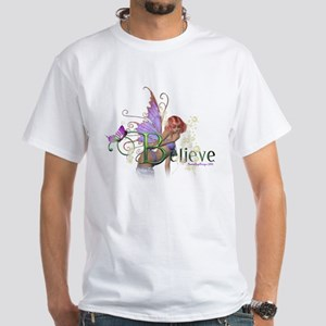 Believe White T-Shirt