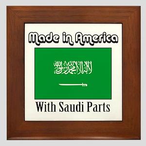 Saudi Parts Framed Tile
