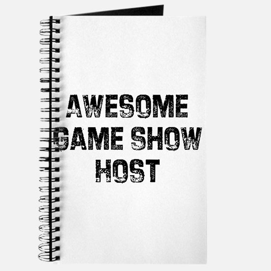 Awesome Game Show Host Journal