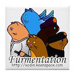 Furmentation Crew Tile Coaster
