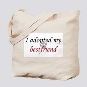 Adopted Bestfriend Tote Bag