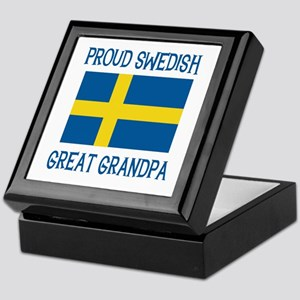 Swedish Great Grandpa Keepsake Box