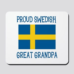 Swedish Great Grandpa Mousepad