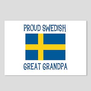 Swedish Great Grandpa Postcards (Package of 8)