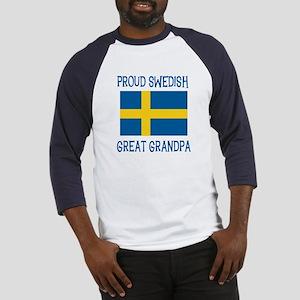 Swedish Great Grandpa Baseball Jersey