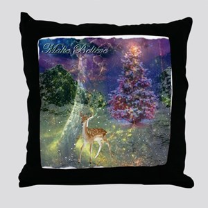 Make Believe Throw Pillow
