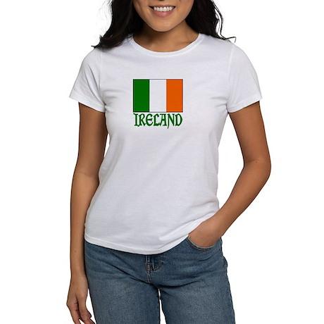 """Irish Flag & Ireland """"Vinque"""" Women's T-Shirt"""