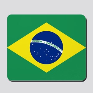 Brazil's National flag Mousepad