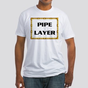PIPE LAYER Fitted T-Shirt