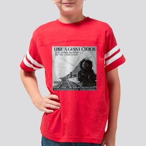 3-PRR-CLOCK1929-LG Youth Football Shirt
