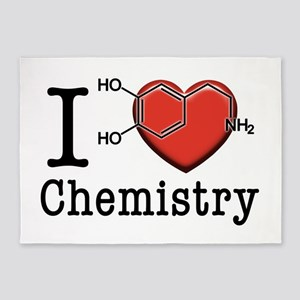 I love Chemistry 5'x7'Area Rug