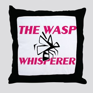 The Wasp Whisperer Throw Pillow