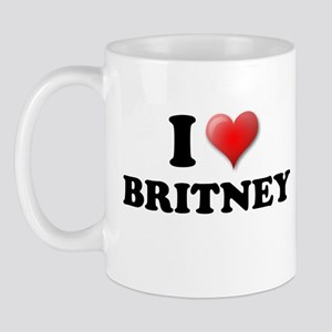 I LOVE BRITNEY SHIRT TEE SHIR Mug