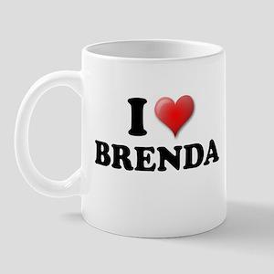 I LOVE BRENDA SHIRT TEE SHIRT Mug