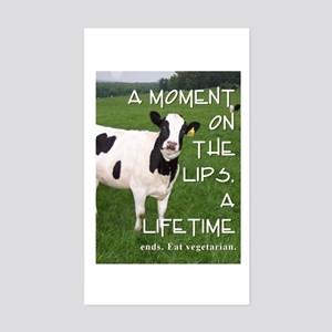 A Moment on the Lips, a Lifetime Ends. Sticker (