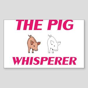 The Pig Whisperer Sticker