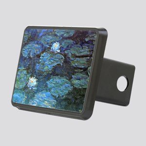 Claude Monet's Water Lilie Rectangular Hitch Cover