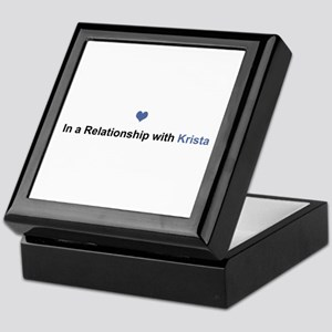 Krista Relationship Keepsake Box