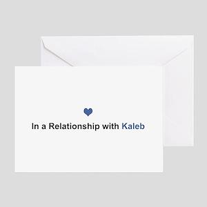 Kaleb Relationship Greeting Card