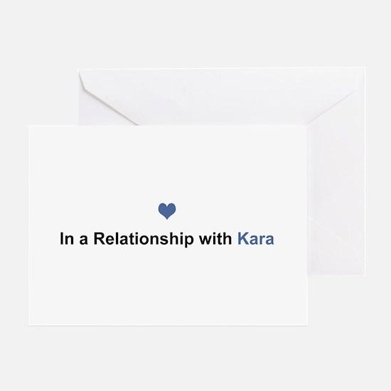 Kara Relationship Greeting Card