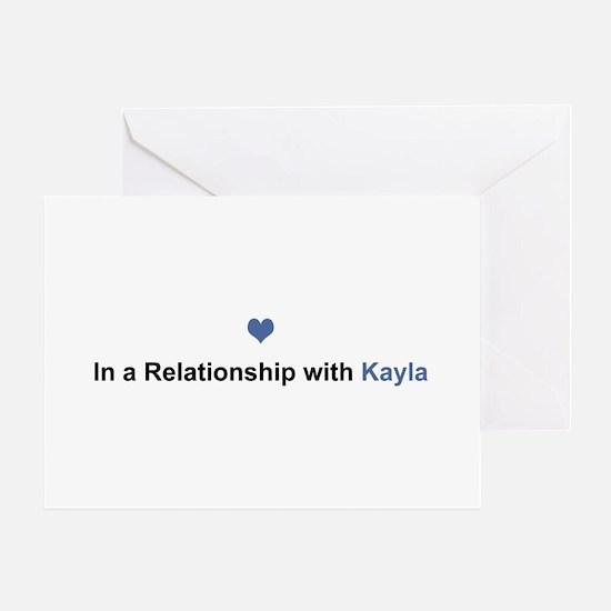 Kayla Relationship Greeting Card