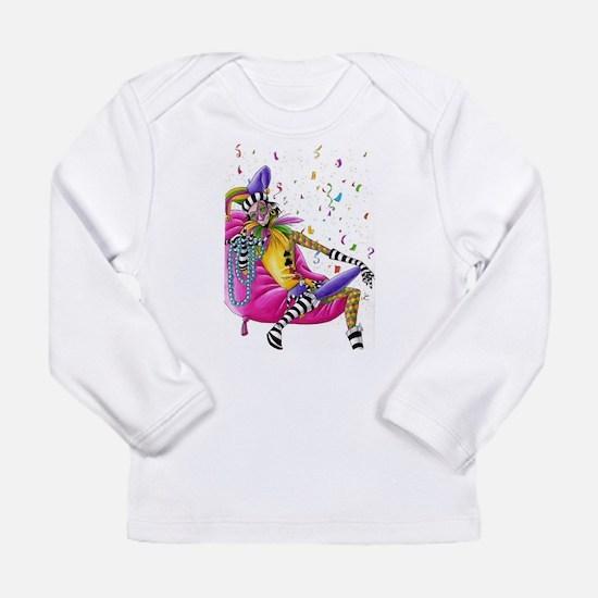Mardi Gras Jester Long Sleeve T-Shirt