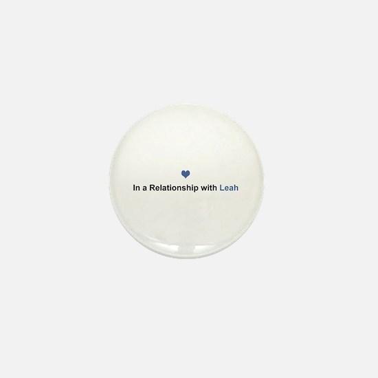 Leah Relationship Mini Button