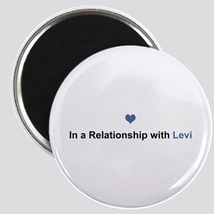 Levi Relationship Round Magnet