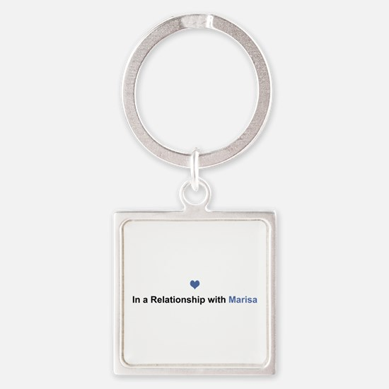 Marisa Relationship Square Keychain