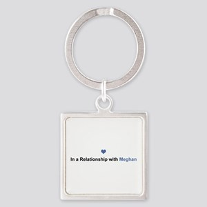 Meghan Relationship Square Keychain