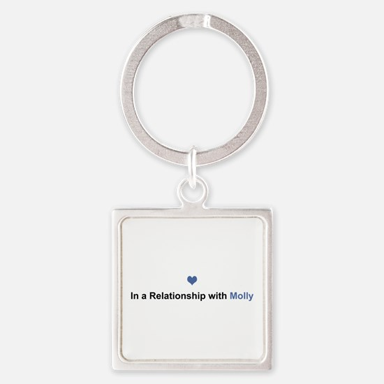 Molly Relationship Square Keychain