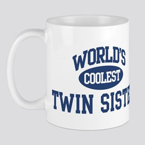 Coolest Twin Sister Mug