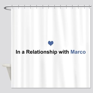 Marco Relationship Shower Curtain