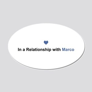 Marco Relationship 20x12 Oval Wall Decal
