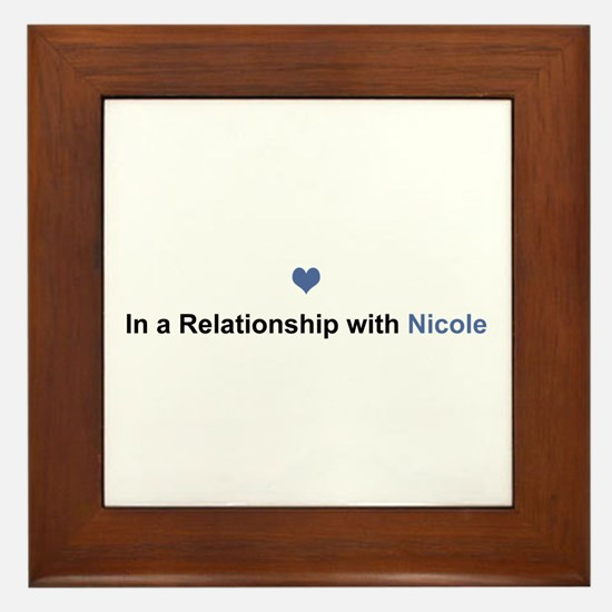 Nicole Relationship Framed Tile