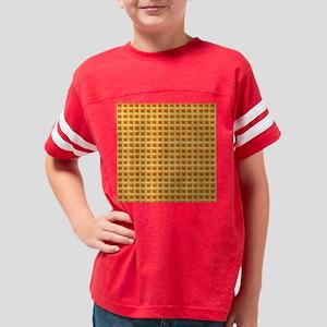 Yummy Giant Waffle Youth Football Shirt