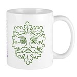 Weathered GreenMan Mug