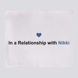 Nikki Relationship Throw Blanket