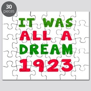 It Was All A Dream 1923 Puzzle